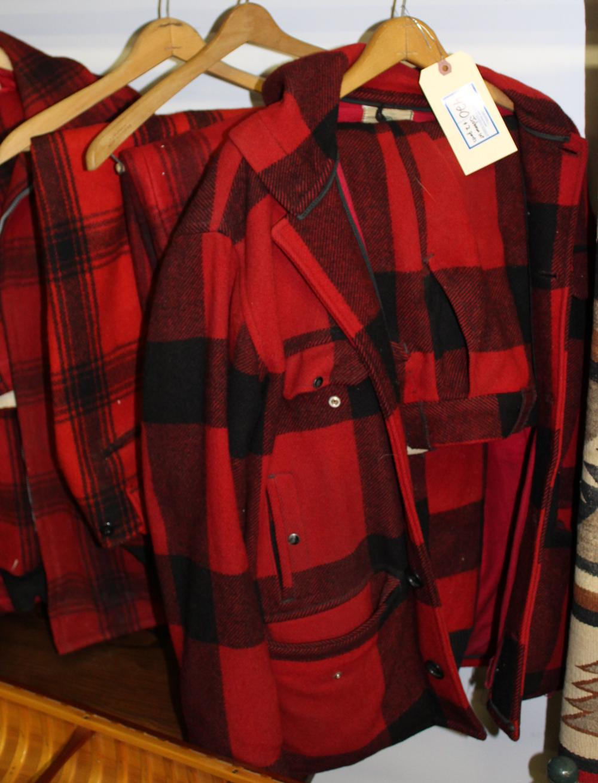 f45e2f76a6c2b vintage Johnson Woolen Mills coat & pants