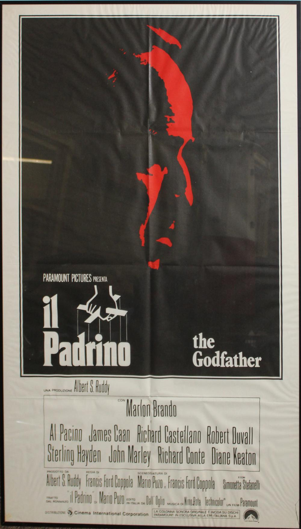 Il Padrino (The Godfather) Italian Release Poster