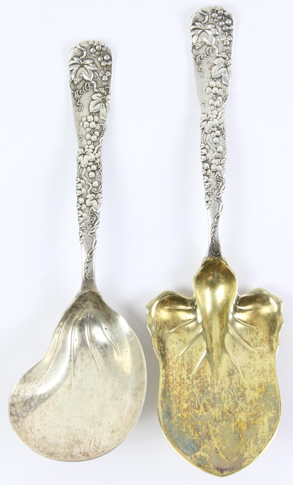 Tiffany Grapevine Sterling Silver Serving Items