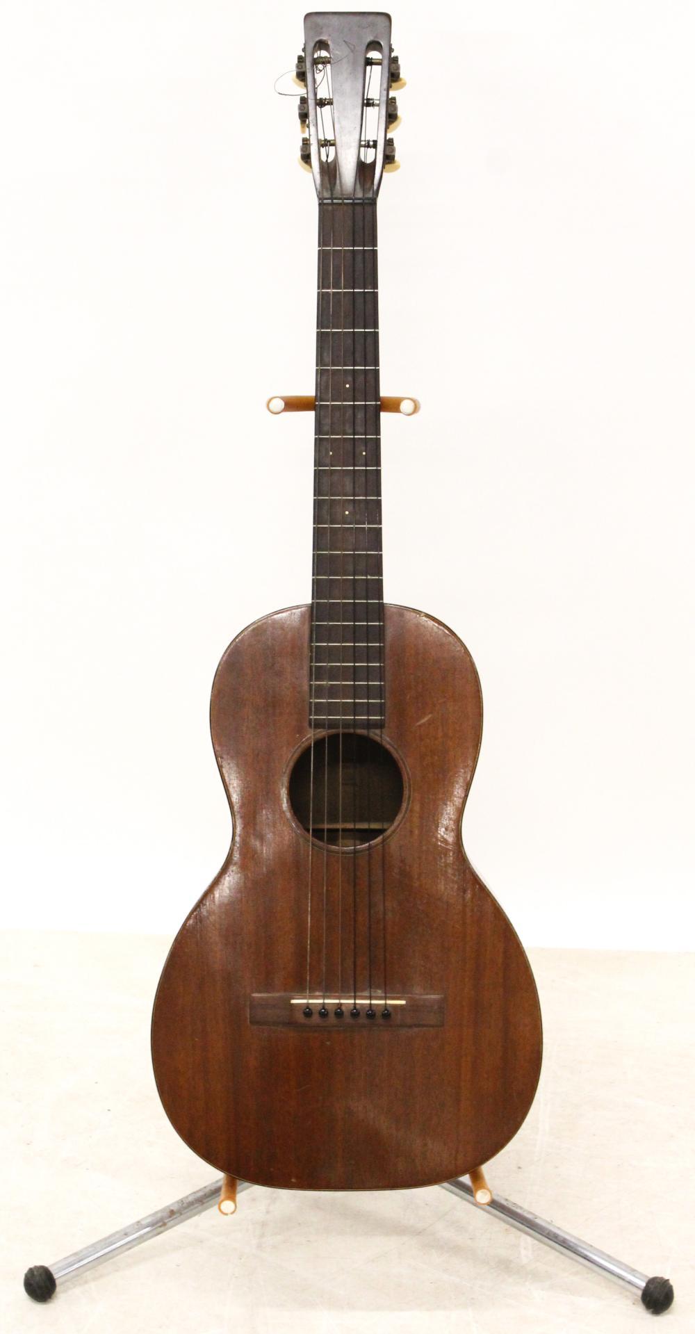 C F Martin/ Oliver Ditson Parlor Guitar