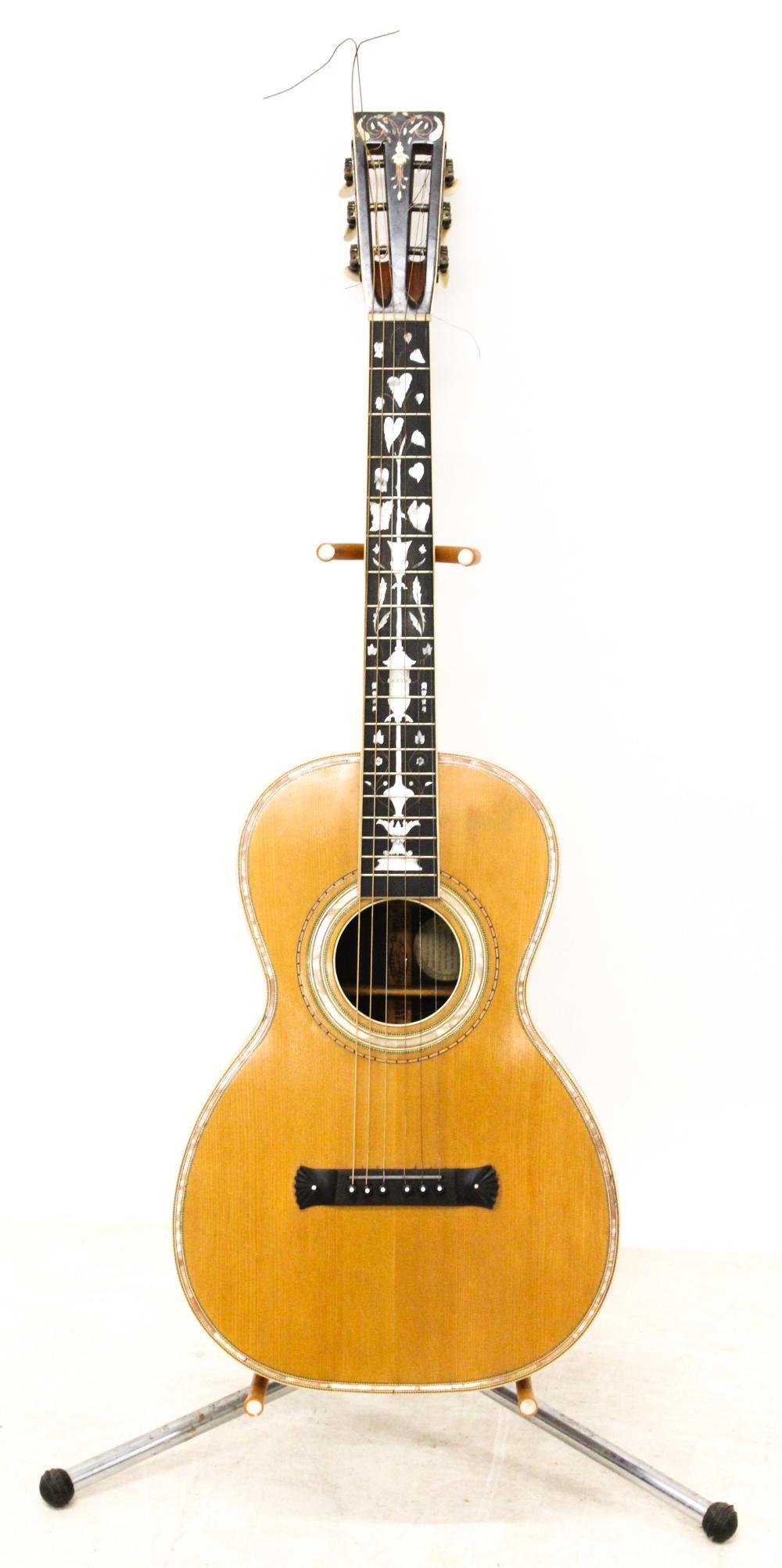 1910 Washburn Parlor Guitar