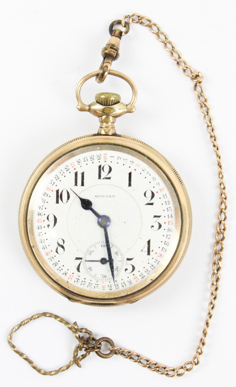 Howard 21 Jewel Pocket Watch