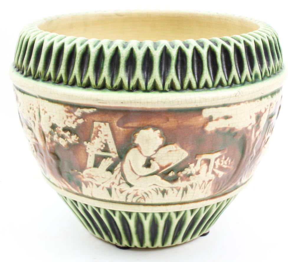 Roseville Donatello Art Pottery Jardiniere