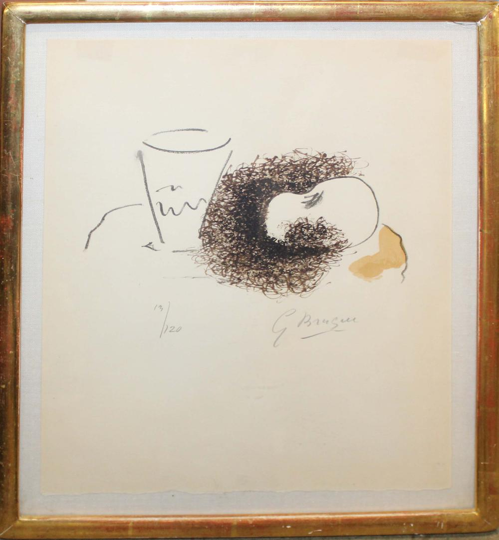 Georges Braque (Fr 1882-1963)