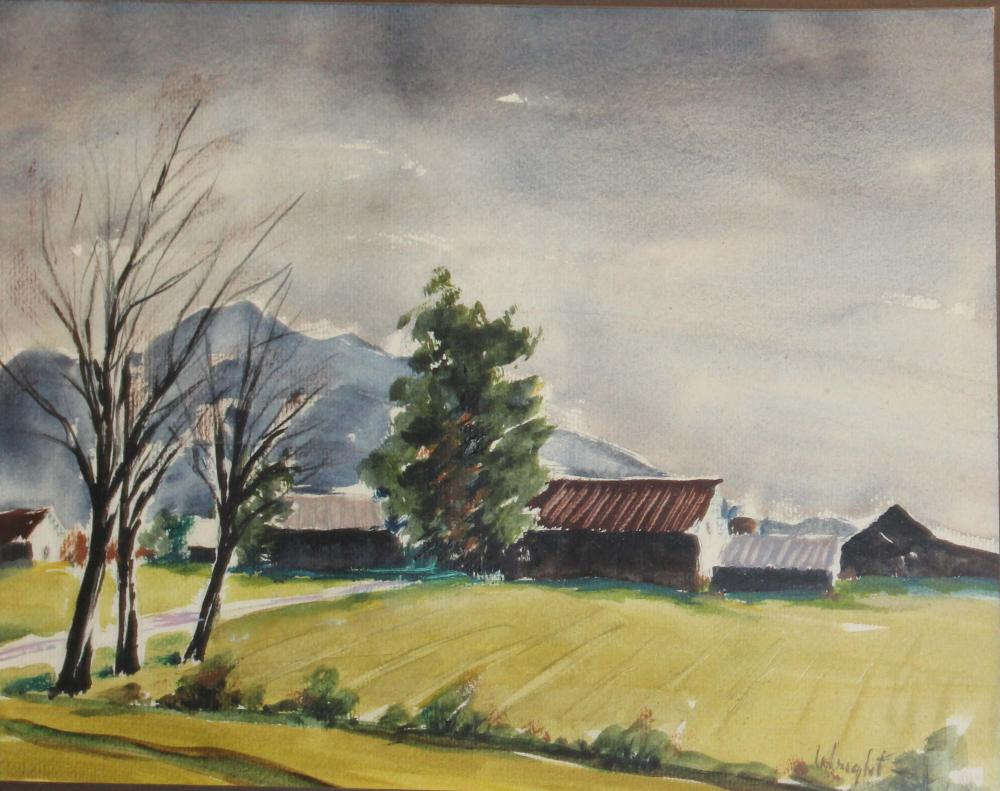 Stan Marc Wright (VT 1911-1996) Mount Mansfield