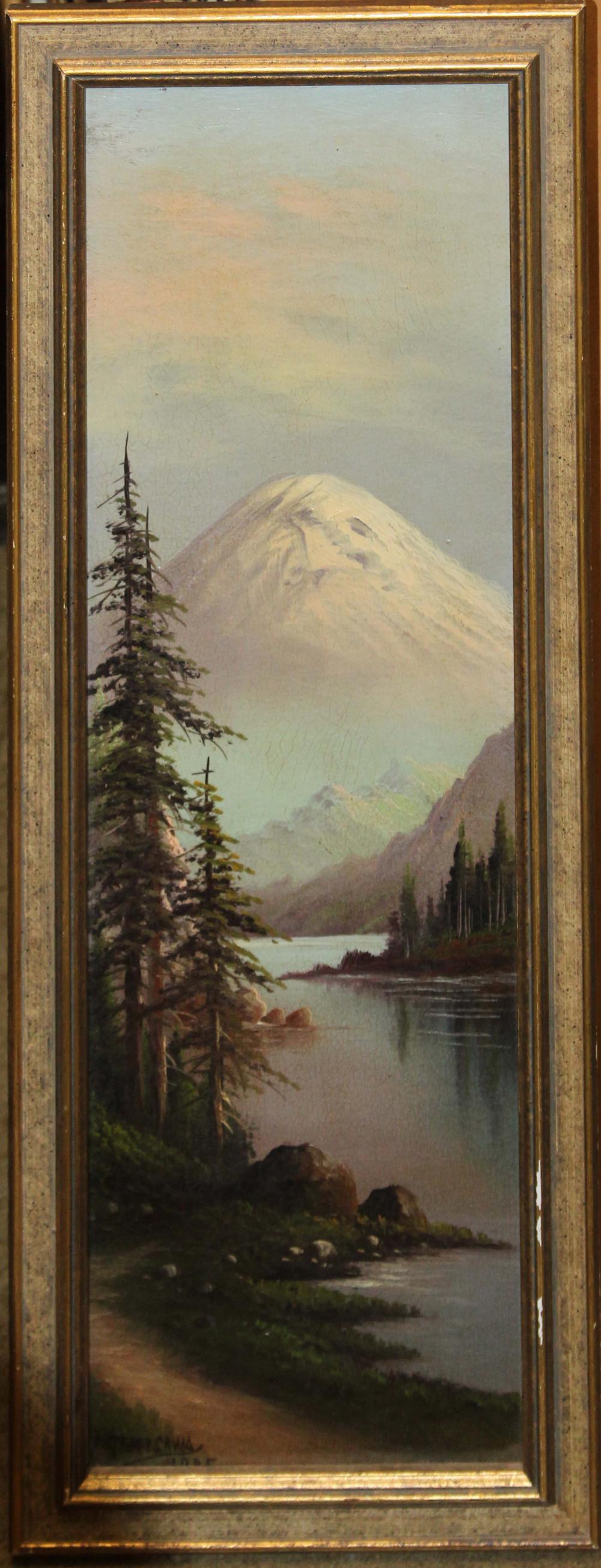 G Yoichi Serisawa (JP 1874-1927) Mountain Landscape