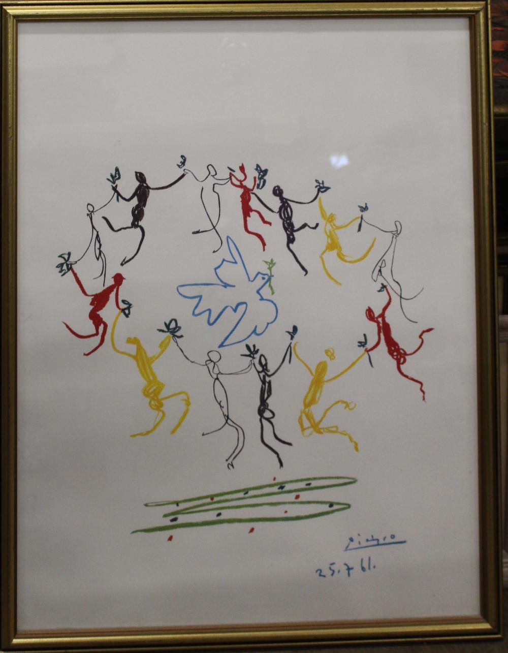 Pablo Picasso (SP 1881-1973) Dove of Peace
