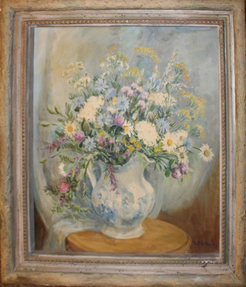Ruth G Mould (VT 1894-1979) Floral Bouquet