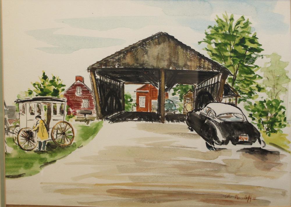 Al Hasleoff (VT 20th) Shelburne Museum