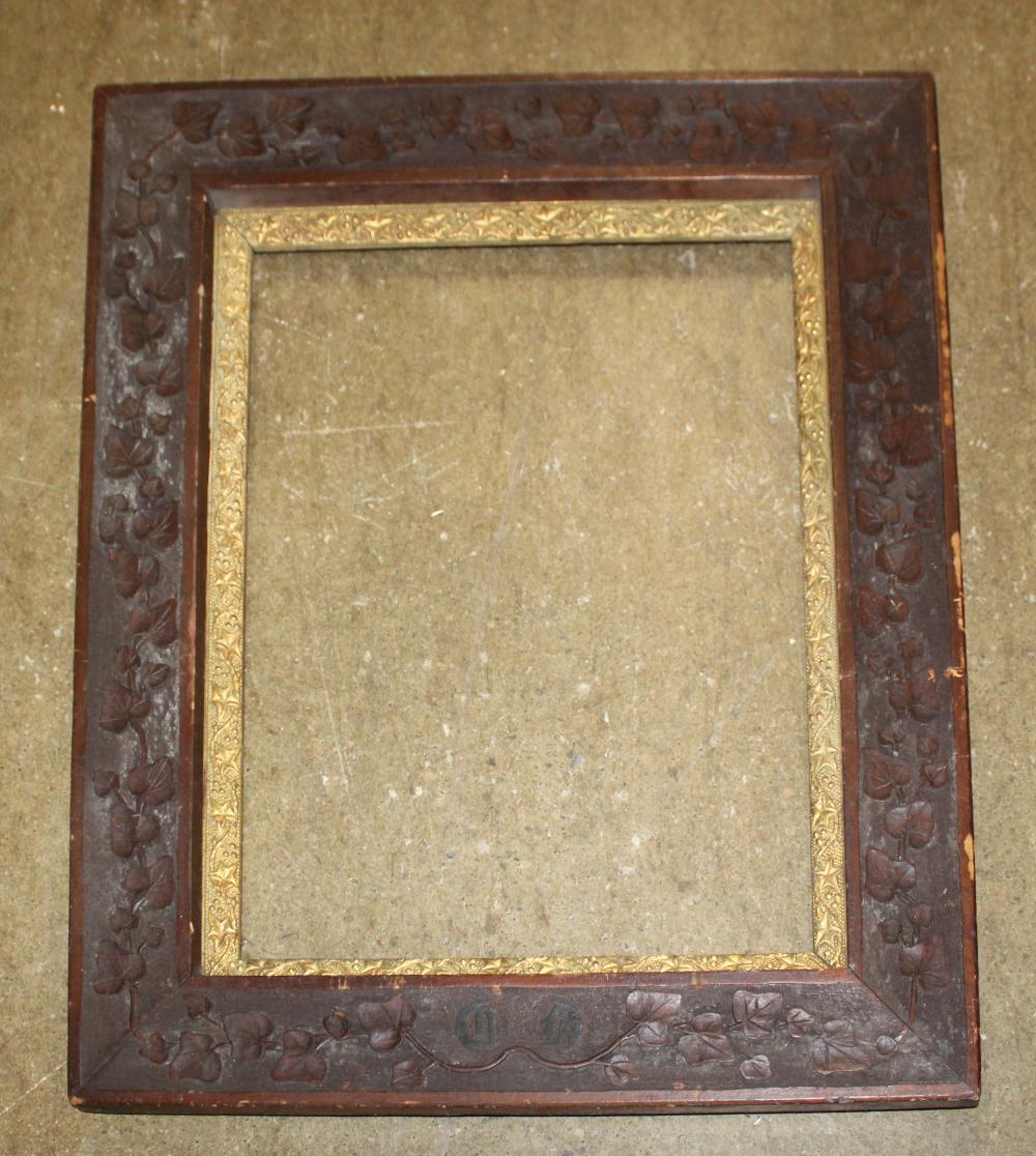 Hand Carved Victorian Frame