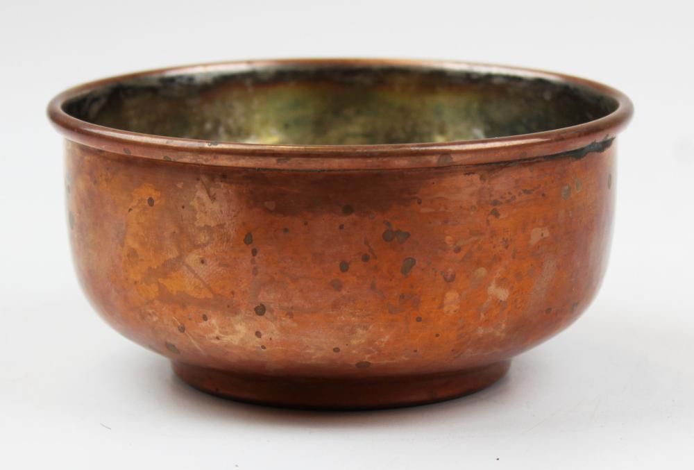 Gebelein Boston Arts & Crafts copper bowl