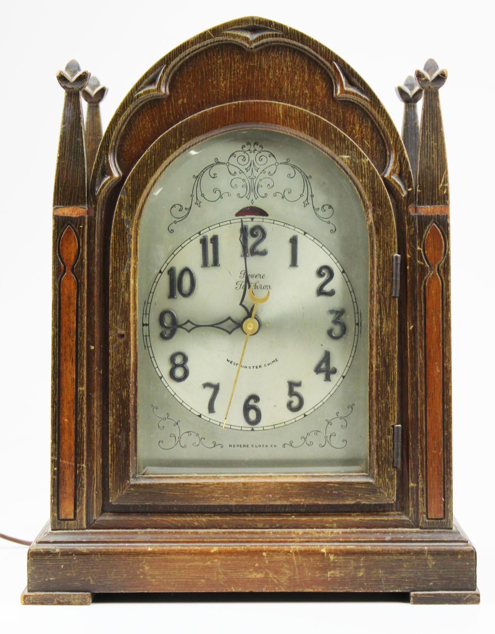 Revere Telechron Westminster chime clock