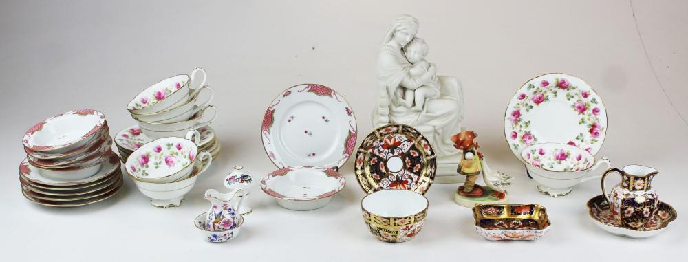 porcelain incl. Cauldon, Royal Crown Derby
