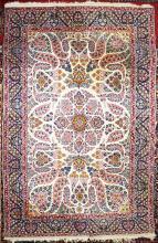 mid 20th c Persian tabriz area rug