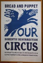 Bread and Puppet 1982 Poster