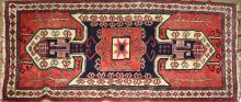 mid 20th c Persian Senna area rug