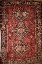 early 20th c Persian Afshar area rug