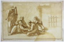 ca 1770 Mulinari aquatint after Raphael