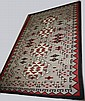 8'x11' Navajo 4 color room size rug ca. 1930 from