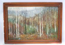 AN FINE HAND MADE OIL PAINTING WITH FRAME.OH005.