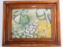 A TIAN FENG OIL PAINTING (ATTRIBUTED TO, 1912 -1965 ).OH008.