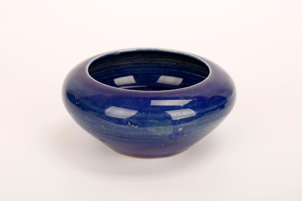 A BLUE GLAZE PORCELAIN BRUSHWASHER C464