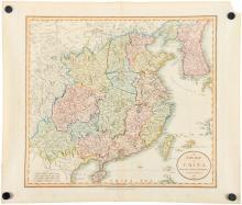 A CARY MAP OF CHINA 1819.B019.
