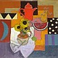 Jack Morrocco - oil on canvas - 'Still Life with, Jack B. Morrocco, Click for value