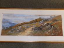 William Widgery (1822-1893) - watercolour - Wistma…