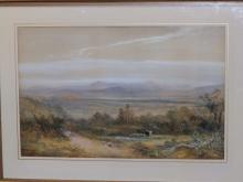 William Widgery (1822-1893) - watercolour - Extens…