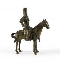Kriegsherr zu Pferd.