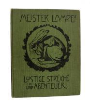 Meister Lampe's lustige Streiche und Abenteuer.