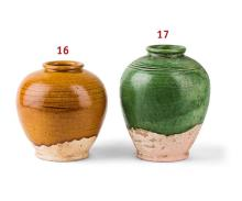 Bauchige Vase.