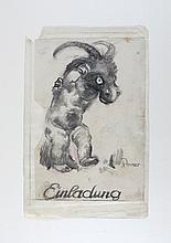 Paul Rosner.1875 Eibenstock/Erzgebirge - 1956 München.