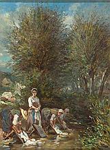 Maurice (Hermann-Maurice) Cossmann. 1821 Berlin - 1890 Paris. War Schüler von Johannes Samuel Otto und Eugène Lepoittevin.