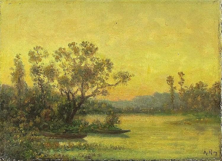 Anatole Ray. 1850 - Paris - 1924.