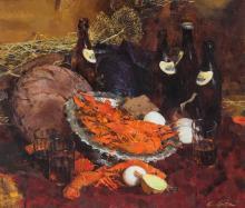 Andres Bogachev. Russischer Künstler des 20. Jh.