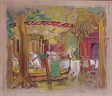 Milo MARTINET (1904-1988). - Carrousel galopant.
