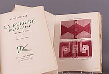 CRAUZAT (E. de). - La Reliure française de 1900 à 1925.
