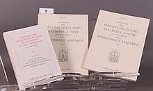 GID (Denise). - Catalogue des reliures françaises estampées à froid (XVème-XVIIème siècle) de la Bibliothèque Mazarine. Ens. 3 vol.