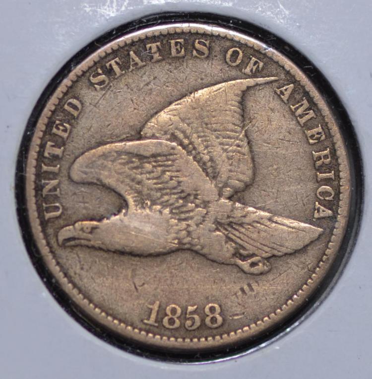 1858 Flying Eagle Cent S.L.