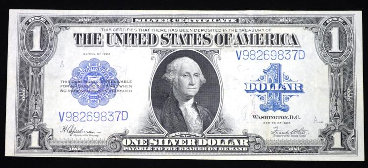 1923 $1.00 Large Size Silver Certificate