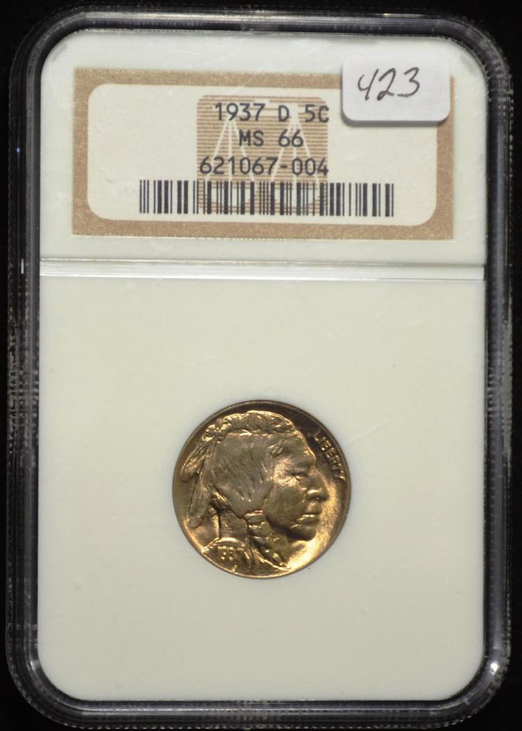 1937-D Buffalo Nickel MS 66 NGC