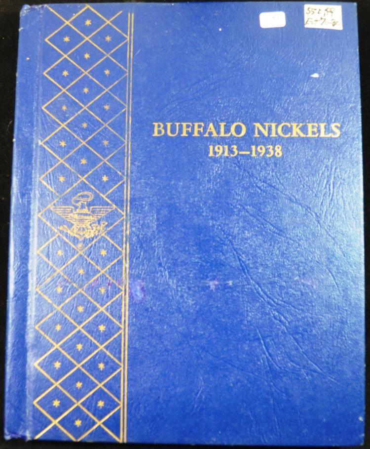 Partial Set Buffalo Nickels 1913-1938