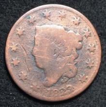 1823 Coronet Large Cent