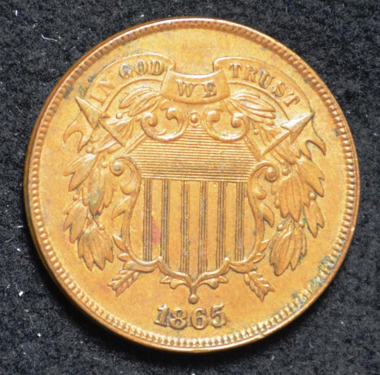 1865 2 Cent