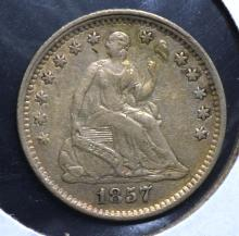 1857 Seated Half Dime