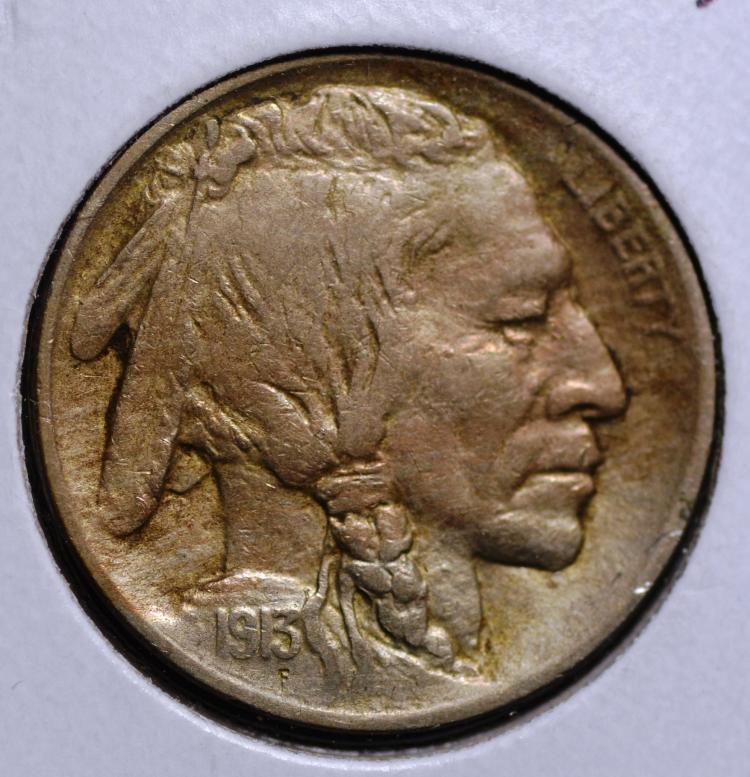 1913 Type 1 Buffalo Nickel