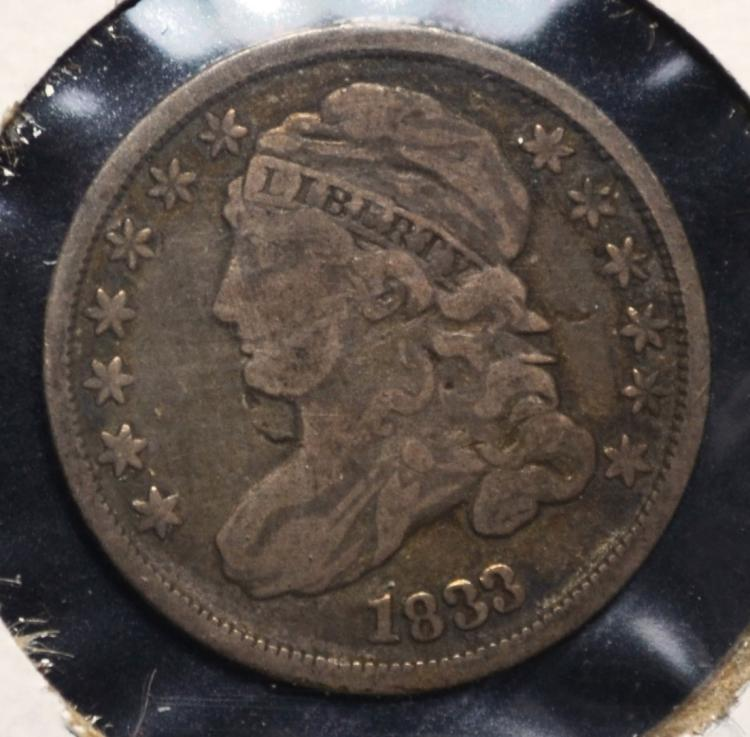1833 Capped Bust Dime