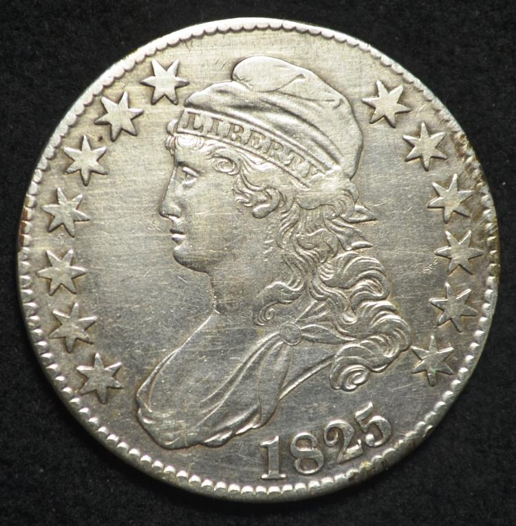 1825 Capped Bust Half Dollar